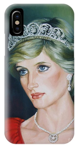 Princess Diana IPhone Case