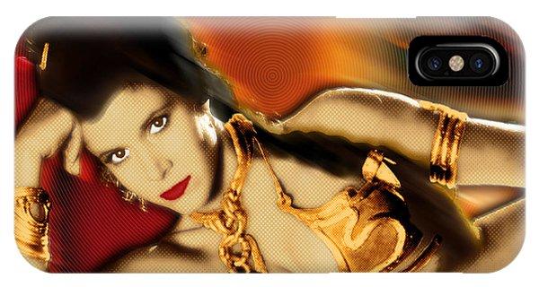 Princess Leia Star Wars Episode Vi Return Of The Jedi 2 IPhone Case