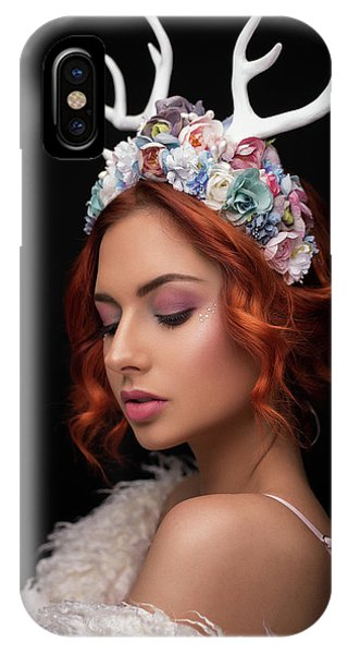 Medieval iPhone Case - Princess Of Forest by Martin Krystynek Qep