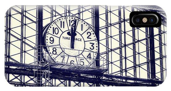 Departure iPhone Case - Principe Pio Clock by Joan Carroll