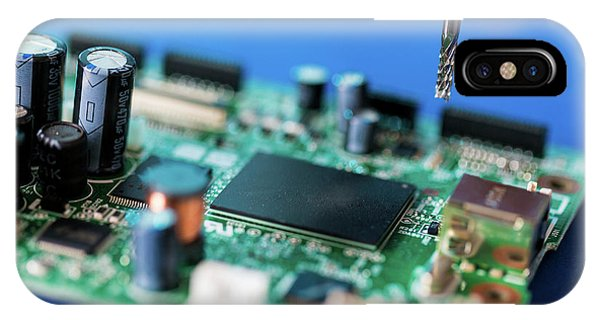 Printed Circuit Board Processing IPhone Case