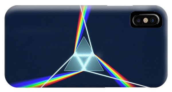 Prism And 3 Spectrums Phone Case by David Parker