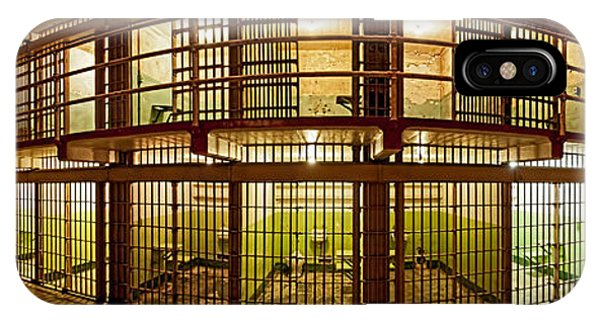 Prison Cells, Alcatraz Island, San IPhone Case