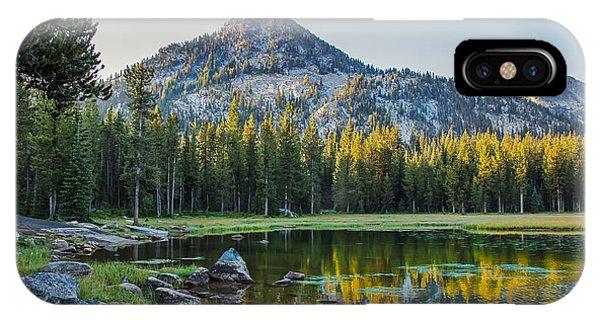 Pristine Alpine Lake IPhone Case