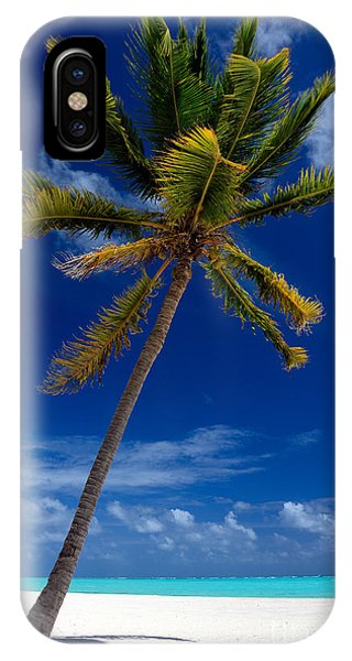 Pristine Tropical Beach  IPhone Case