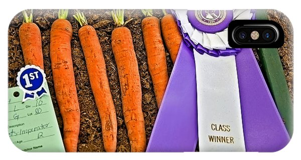 Prize Winning Carrots IPhone Case