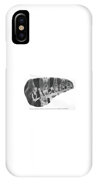 Professor Merton Is A Brilliant Man In His ?eld IPhone Case