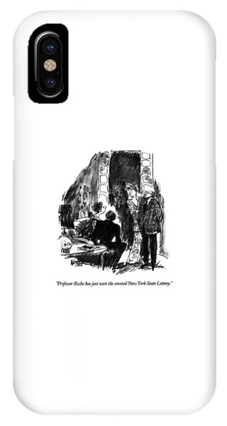 Professor Roche Has Just Won The Coveted New York IPhone Case