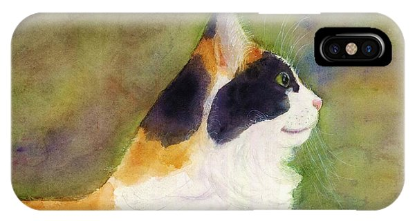 Profile Of A Cat IPhone Case
