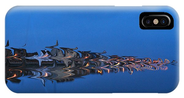 Promenade In Blue  IPhone Case