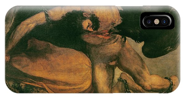 Anguish iPhone Case - Prometheus Oil On Canvas by Francisco Jose de Goya y Lucientes