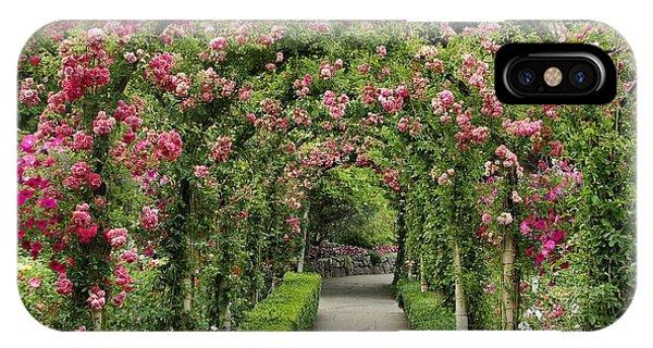 Rose Promenade   IPhone Case