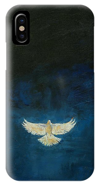 Dove iPhone Case - Promised Land by Michael Creese