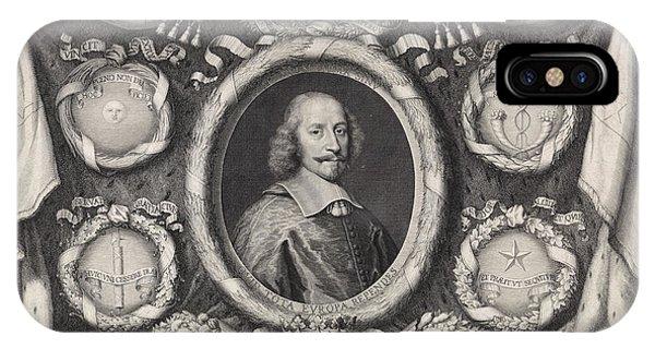 Lavender iPhone Case - Promotional Print Of Raymundus Berenger Of Lorraine 1660 by Pieter Van Schuppen