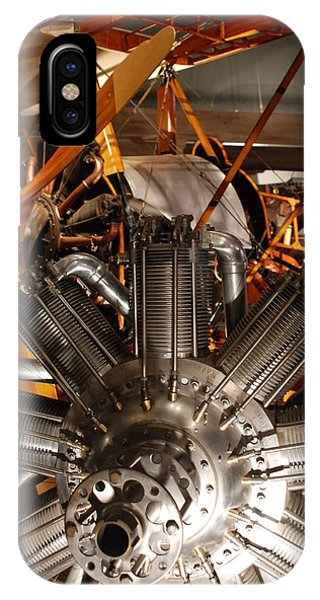 Prop Plane Engine Illuminated IPhone Case