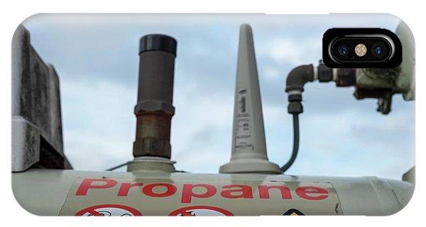 Flammable iPhone Case - Propane Tank by Robert Brook