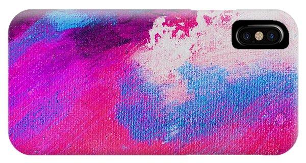 Propel Scarlet Blue Phone Case by L J Smith
