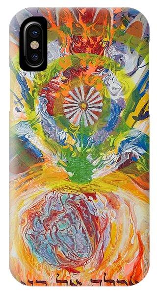 Prophetic Message Sketch Painting 5 Esh Oklah El Kanna IPhone Case