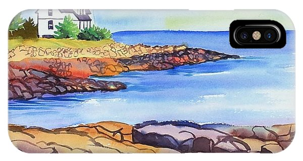 Prospect Harbor Lighthouse Me IPhone Case