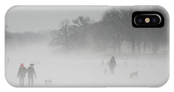 Prospect Park Brooklyn In Winter IPhone Case