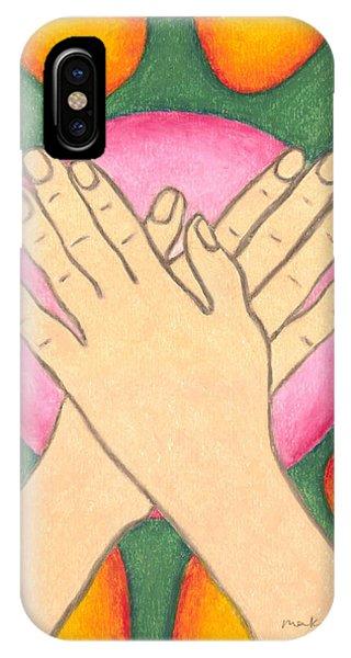 Protection - Mudra Mandala IPhone Case