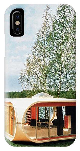 Prototype Of Polykem Molded House IPhone Case