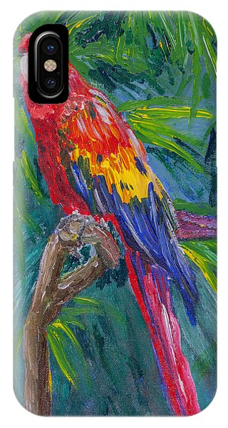 Proud Parrot IPhone Case