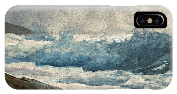 iPhone Case - Prouts Neck Breakers by Winslow Homer