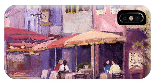 Provence Cafe IPhone Case