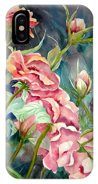 Provence Roses Phone Case by Becky Taylor