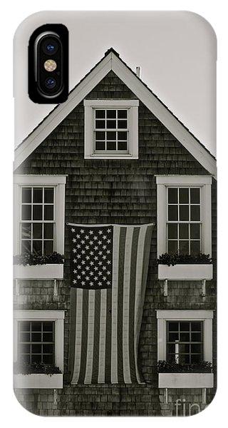Gay Pride Flag iPhone Case - Provincetown Ma -american Dream - Photo by Deborah Talbot - Kostisin