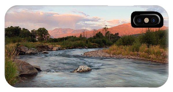 Provo River Sunrise IPhone Case