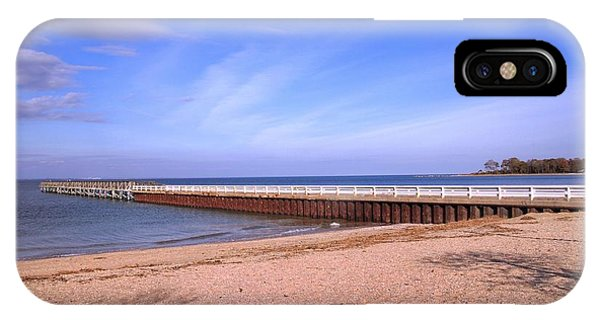 Prybil Beach Pier IPhone Case