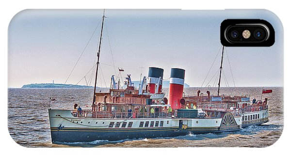Ps Waverley Approaching Penarth IPhone Case