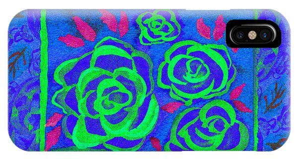 Psychedelic Roses - Summer IPhone Case