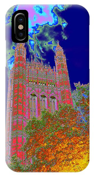 Psychedelic Westminster IPhone Case