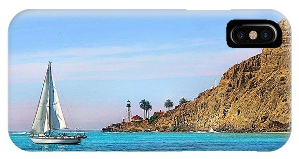 Pt Loma - San Diego Bay IPhone Case