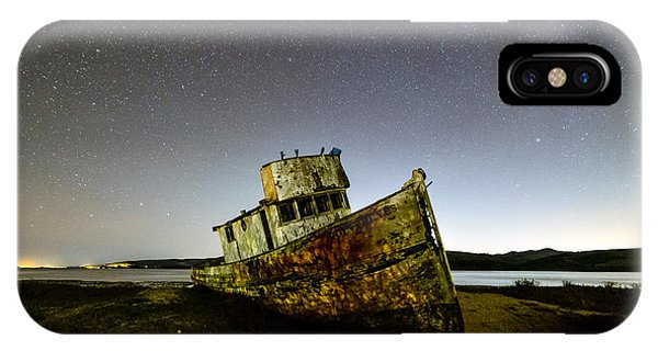 Pt Reyes Wreck IPhone Case