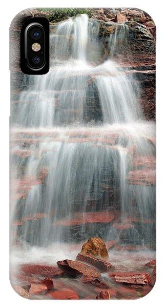 Ptarmigan Trail Waterfall No.4 IPhone Case