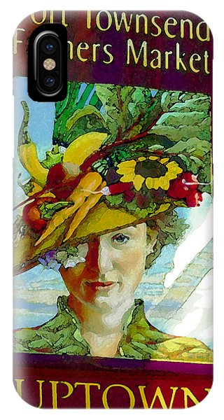 Port Townsend iPhone Case - Port Townsend Banner Artwork by David Lee Thompson