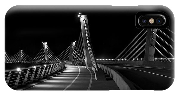 Ptuj Bridge Bw IPhone Case