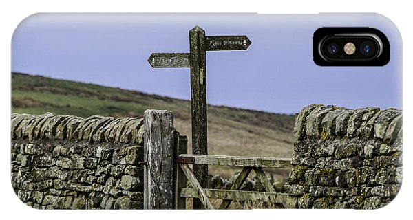 Public Bridleway IPhone Case
