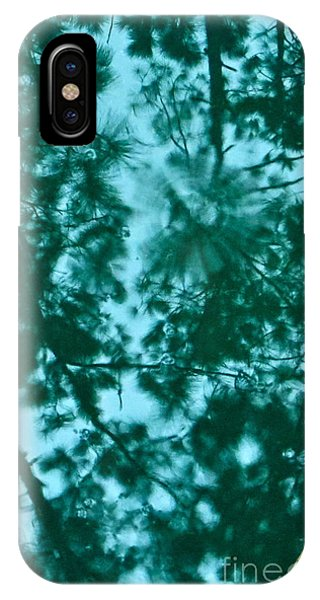 Puddle Of Pines IPhone Case