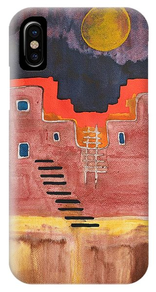 Pueblito Original Painting IPhone Case