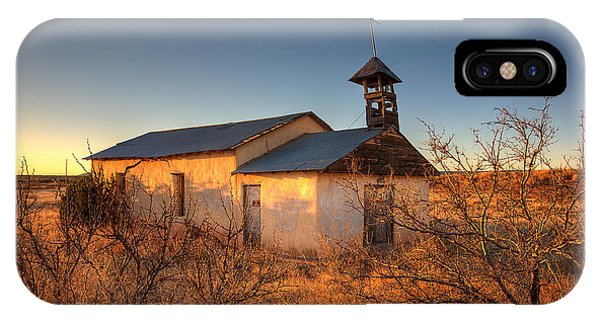 Adobe iPhone Case - Pueblo Church by Peter Tellone