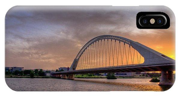 Puente De Lusitania II IPhone Case