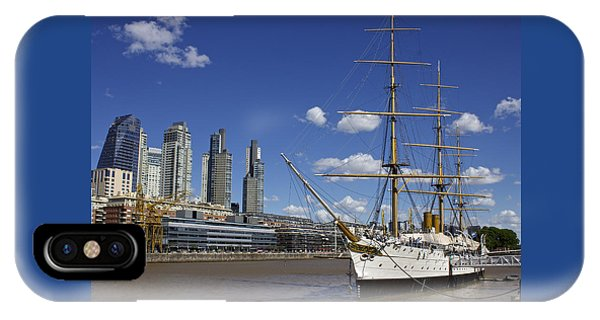 Puerto Madero Buenos Aires IPhone Case