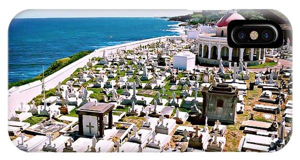 Puerto Rican Cemetery IPhone Case
