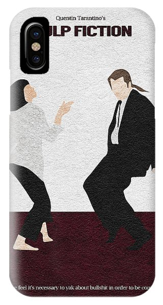 Dance iPhone Case - Pulp Fiction 2 by Inspirowl Design