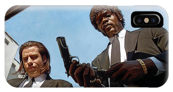 Pulp Fiction Artwork 1 IPhone Case